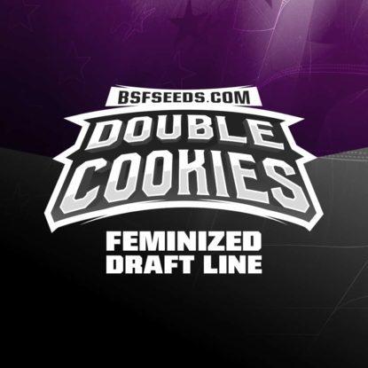 Logo de semillas feminizadas de Double Cookies