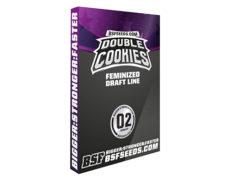 Semillas feminizadas de Double Cookies en venta en el Groshop online sensoryseeds