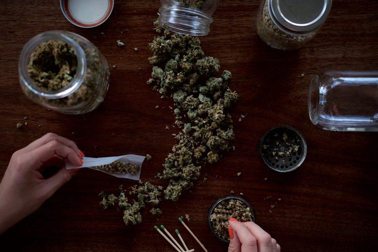 colección de semillas de cannabis