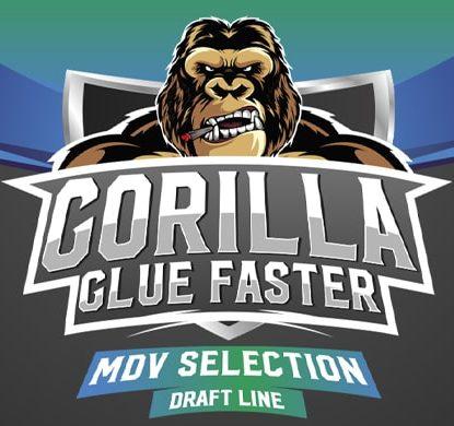 Logo de semillas de floracion rapida Gorilla Glue