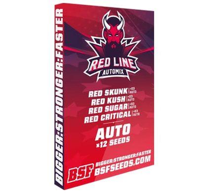 Kit de semillas de cannabis Red Line Automix