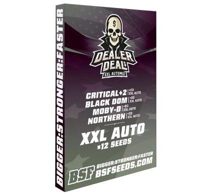 Kit de semillas de marihuana Dealer Deal XXL Automix en sensoryseeds comprar