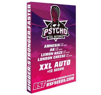 Kit Psycho XXL Automix de semillas en Sensoryseeds