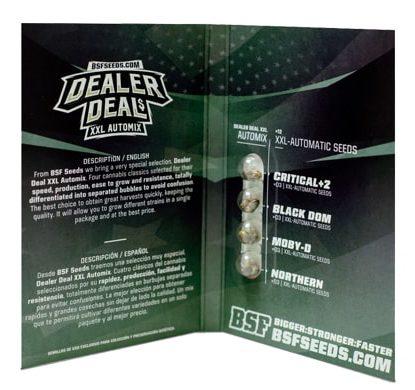 Paquete de semillas de marihuana Dealer Deal XXL Automix