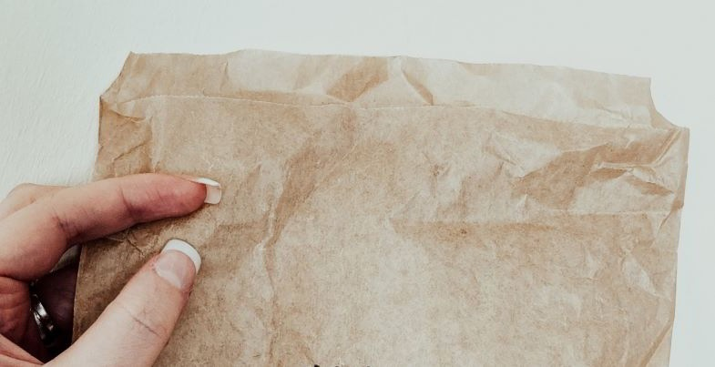 Bolsa de papel para secar marihuana